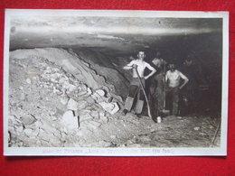 """68 - WITTELSHEIM - CARTE PHOTO - """" MINES DE POTASSE AMELIE """" - AU FOND . """" SERIE INCONNU SUR DELCAMPE ... - France"""
