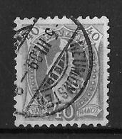1882 - 1904 STEHENDE HELVETIA  →  (14 Zähne Senkrecht) Weisses Papier Kontrollzeichen Form A ►SBK-69A / NEUMÜNSTER◄ - Oblitérés