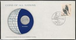 0184 - Numiscover / Enveloppe Numismatique - SAINT MARIN - 10 Lire 1974 - San Marino