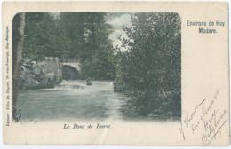 Modave - Le Pont De Barsé - Editeur Félix De Ruyter - 1906 - Modave