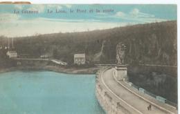 La Gileppe - Le Lion, Le Pont Et La Route - Editeur Emile Dumont - 1920 - Gileppe (Barrage)