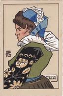 Géo FOURRIER - Jeune Femme De FOUESNANT - Fourrier, G.
