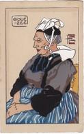 Géo FOURRIER - Vieille Femme De GOUEZEC - Fourrier, G.