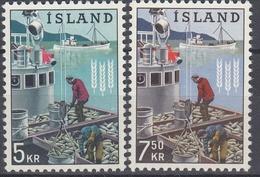 +Iceland 1963. Fighting Hunger. Michel 370-71. MNH(**). - Ungebraucht
