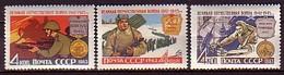 RUSSIA & USSR - 1963 - En Hommage Aux Defenseurs De La Patie - 3v** Mi 2759/61 - 1923-1991 URSS