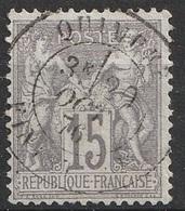 France 1876-78 N° 66 Groupe Allégorique (F19) - 1876-1878 Sage (Type I)