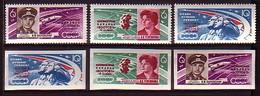 RUSSIA & USSR - 1963 - Kosmos - Wostok 5 - 1v** Mi 2769/71 Dent + Non Dent. - 1923-1991 USSR