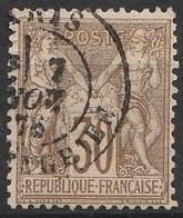 France 1876-78 N° 69 Groupe Allégorique (F19) - 1876-1878 Sage (Type I)
