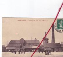CP 62  HENIN-LIETARD -  La Fabrique De Sucre - Rue De Beaumont - Henin-Beaumont