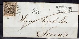 Modène Belle Lettre Entière De 1856. B/TB. A Saisir! - Modena