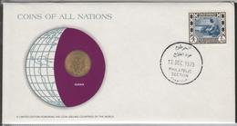 0189 - Numiscover / Enveloppe Numismatique - SOUDAN - 5 Millim 1978 - Soudan