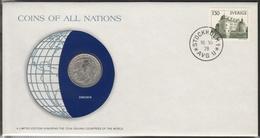 0190 - Numiscover / Enveloppe Numismatique - SUEDE - 1 Krona 1978 - Sweden