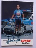 Moreno ARGENTIN - Signé / Hand Signed / Dédicace Authentique / Autographe - Cyclisme