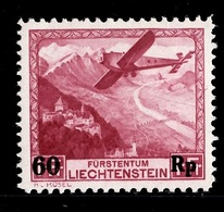 Liechtenstein Poste Aérienne YT N° 14 Neuf ** MNH. TB. A Saisir! - Air Post