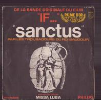 """45 T Bo Du Film """" If """" Sanctus - Música De Peliculas"""