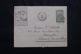 MADAGASCAR - Entier Postal Illustré Pour Marseille En 1928, Voir Cachets De Transit Au Verso - L 54705 - Brieven En Documenten