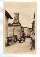 32 - MAUVEZIN - Rue Victor-Hugo. Attelage - Autres Communes