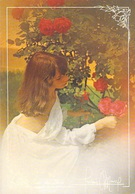 Photographe Photograph) D'après Photo FREDERIC MAURY Collection REGARDS Femme  Jeune Fille Fleurs (charme)* PRIX FIXE - Illustrateurs & Photographes
