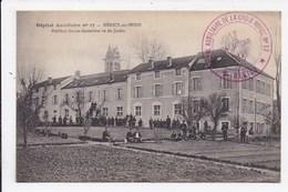 CP 77 HERICY SUR SEINE Hopital Auxiliaire N°17 Pavillon Sainte Genevieve Vu Du Jardin - France