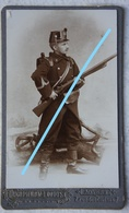 CDV ABL 5ème Régiment Infanterie Fusil Uniforme Photographe PIERON LOODTS Antwerpen Belgische Leger Soldat Militaria - Photos
