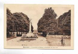 32 - MAUVEZIN - Promenade Du Château Et Monument De 1914-1918 - Autres Communes