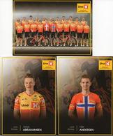 CYCLISME: CYCLISTE : EQUIPE UNO X 2020 COMPLETE SOUS BLISTER - Cyclisme