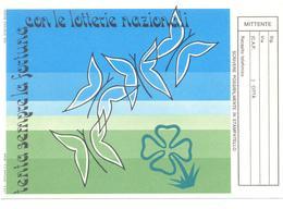 CARTOLINA DELLA LOTTERIA ITALIA  NUOVA PERFETTA - Biglietti Della Lotteria