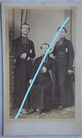 CDV BLANKENBERGE 1866 Prêtres Religieux Congération Française Couvent Soeurs De Saint Joseph J Roelns Directeur - Photos