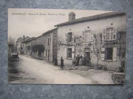 CHAPTELAT - BUREAU DE TABACS - ENTREE DU VILLAGE - Francia