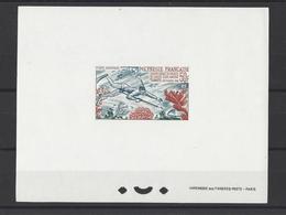 POLYNESIE . YT PA Epreuve De Luxe N° 14  Neuf **  1965 - Imperforates, Proofs & Errors