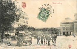 TOUT PARIS XVIe PLACE DU TROCADERO STATION DES OMNIBUS  RELAIS DES CHEVAUX - District 16