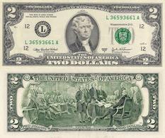 USA, 2 Dollars Commemorative, Federal Reserve Of San Francisco (L), P516b, 2003A, UNC - USA
