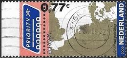 NETHERLANDS 2009 Europa. Astronomy - 77c - Locations Of LOFAR (Low Frequency Array) Radio Telescope Antennae FU - Oblitérés