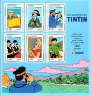 BF109 Y&T ** Les Voyages De Tintin Bloc 2007 - Neufs