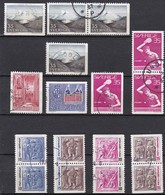 S234 – SUEDE – SWEDEN – 1967 – 5 FULL SETS – Y&T 558/566 USED - Suède