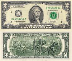 USA, 2 Dollars Commemorative, Federal Reserve Of New York (B), P538, 2013, UNC - USA