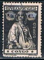 Congo, 1914, # 100 (I-I), Used - Congo Portugais