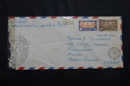 NOUVELLE CALÉDONIE - Enveloppe De Nouméa Pour La France En 1947, Affranchissement Plaisant - L 54720 - Cartas