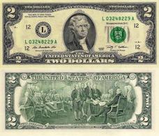 USA, 2 Dollars Commemorative, Federal Reserve Of Dallas (L), P530, 2009, UNC - USA