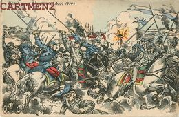 DINANT BATAILLE DU 16 AOUT 1914 ILLUSTRATEUR PATRIOTIQUE GUERRE BELGIQUE - Dinant