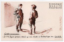 - BUVARD COKE - Le Petit Ramoneur - - Öl & Benzin