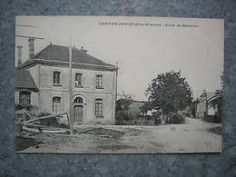 CHATEAUNEUF - ECOLE DE GARCONS - Chateauneuf La Foret