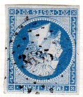 Moselle Villers La Montagne Pc 3635 Cote Pothion (sur Lettre) Ind. 10 = 60 Eu - 1849-1876: Période Classique