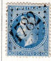 Moselle Montogny-les-Metz GC 4782 Cote Pothion (sur Lettre) Ind. 16 = 170 Eu - 1849-1876: Période Classique