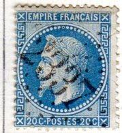 Moselle Metzenville GC 2337 Cote Pothion (sur Lettre) Ind. 10 = 60 Eu - 1849-1876: Période Classique