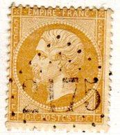 Moselle Maizieres-les-Metz  GC 2175 Cote Pothion (sur Lettre) Ind. 132 = 80 Eu - Marcophilie (Timbres Détachés)