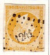 Moselle Foulquemont Pc 1241 Cote Pothion (sur Lettre) Ind. 5 = 20 Eu - 1849-1876: Période Classique
