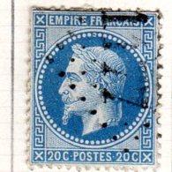 Moselle Courcelles-Chaussy GC 1177 Cote Pothion (sur Lettre) Ind. 10 = 60 Eu - Marcophilie (Timbres Détachés)