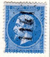 Moselle Corny Sur Moselle GC 1141 Cote Pothion (sur Lettre) Ind. 13 = 100 Eu - Marcophilie (Timbres Détachés)