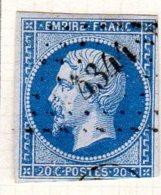 Moselle Aumetz Pc 4344 Cote Pothion (sur Lettre) Ind. 17= 220 Eu - 1849-1876: Période Classique